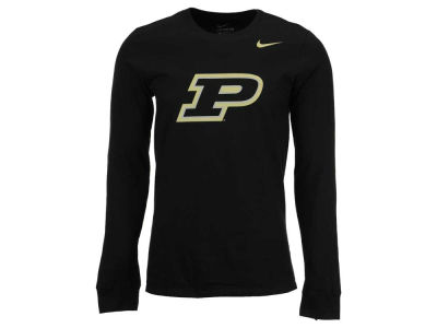 Purdue Boilermakers Nike NCAA Men's Cotton Big Logo Long Sleeve T-Shirt