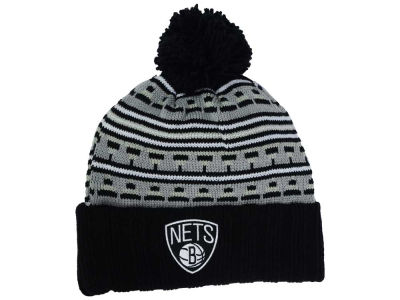 Brooklyn Nets Mitchell and Ness NBA Mixtec Pom Knit