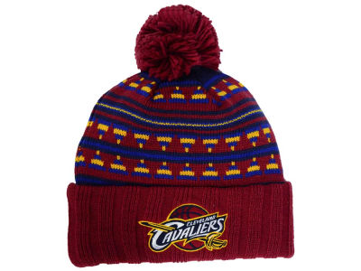 Cleveland Cavaliers Mitchell and Ness NBA Mixtec Pom Knit