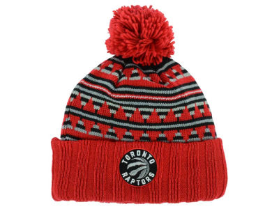 Toronto Raptors Mitchell and Ness NBA Mixtec Pom Knit