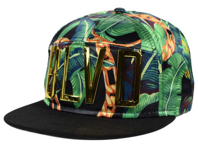 BLVD Block B Trills Metal Snapback Hat
