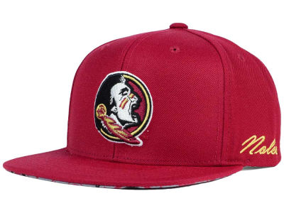 Florida State Seminoles Top of the World NCAA Paisley Snapback Cap