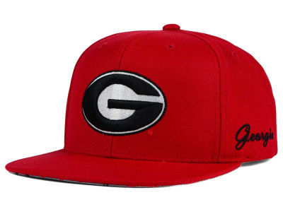 Georgia Bulldogs Top of the World NCAA Paisley Snapback Cap
