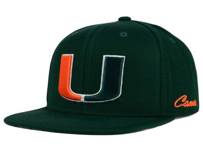 Miami Hurricanes Top of the World NCAA Paisley Snapback Cap