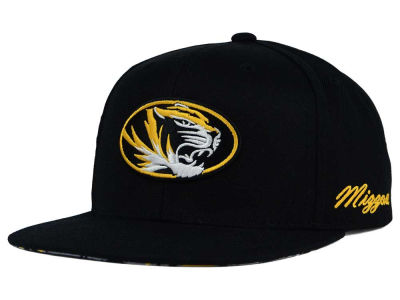 Missouri Tigers Top of the World NCAA Paisley Snapback Cap