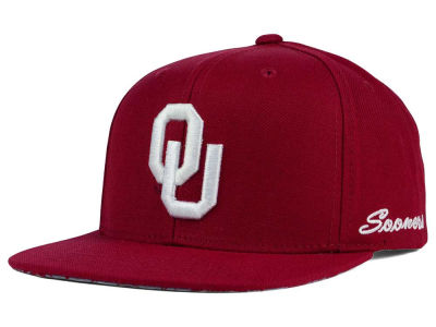 Oklahoma Sooners Top of the World NCAA Paisley Snapback Cap