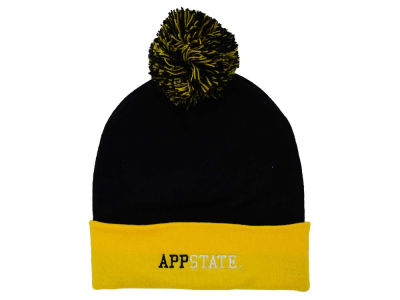 Appalachian State Mountaineers Top of the World NCAA 2 Tone Pom Knit