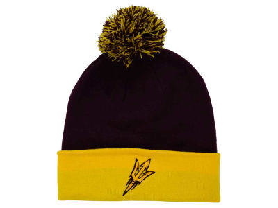 Arizona State Sun Devils Top of the World NCAA 2 Tone Pom Knit
