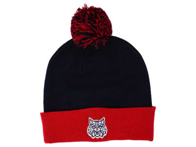 Arizona Wildcats Top of the World NCAA 2 Tone Pom Knit