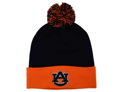 Auburn Tigers Top of the World NCAA 2 Tone Pom Knit