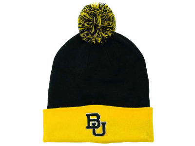 Baylor Bears Top of the World NCAA 2 Tone Pom Knit