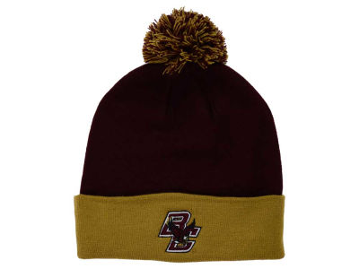 Boston College Eagles Top of the World NCAA 2 Tone Pom Knit