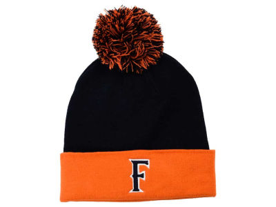 Cal State Fullerton Titans Top of the World NCAA 2 Tone Pom Knit