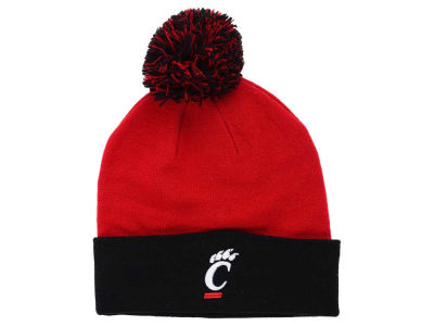 Cincinnati Bearcats Top of the World NCAA 2 Tone Pom Knit