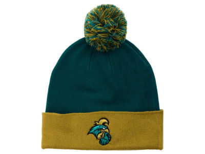 Coastal Carolina Chanticleers Top of the World NCAA 2 Tone Pom Knit