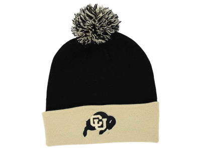 Colorado Buffaloes Top of the World NCAA 2 Tone Pom Knit