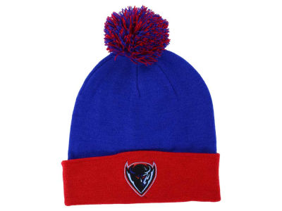 DePaul Blue Demons Top of the World NCAA 2 Tone Pom Knit