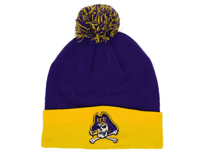 East Carolina Pirates Top of the World NCAA 2 Tone Pom Knit