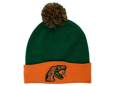 Florida A&M Rattlers Top of the World NCAA 2 Tone Pom Knit