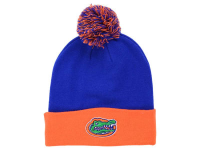 Florida Gators Top of the World NCAA 2 Tone Pom Knit