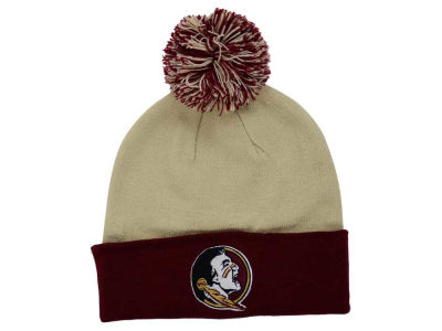 Florida State Seminoles Top of the World NCAA 2 Tone Pom Knit