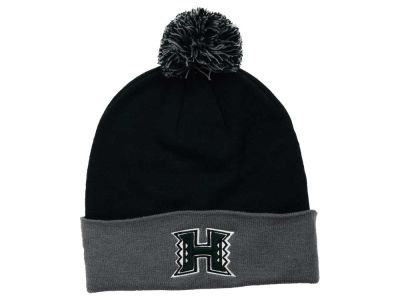 Hawaii Warriors Top of the World NCAA 2 Tone Pom Knit