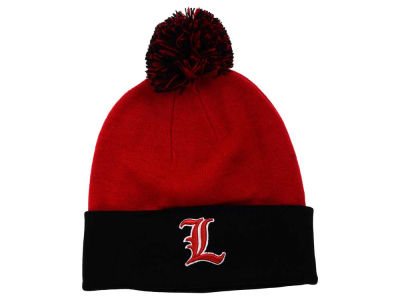 Louisville Cardinals Top of the World NCAA 2 Tone Pom Knit