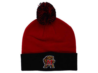Maryland Terrapins Top of the World NCAA 2 Tone Pom Knit