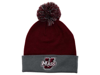 Massachusetts Minutemen Top of the World NCAA 2 Tone Pom Knit