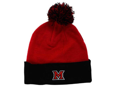 Miami (Ohio) Redhawks Top of the World NCAA 2 Tone Pom Knit