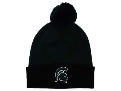 Michigan State Spartans Top of the World NCAA 2 Tone Pom Knit
