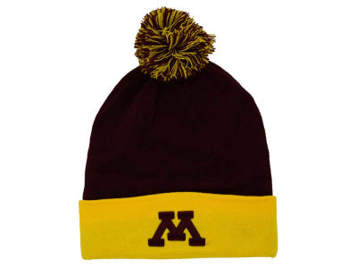 Minnesota Golden Gophers Top of the World NCAA 2 Tone Pom Knit