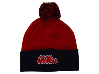 Ole Miss Rebels Top of the World NCAA 2 Tone Pom Knit
