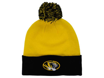 Missouri Tigers Top of the World NCAA 2 Tone Pom Knit