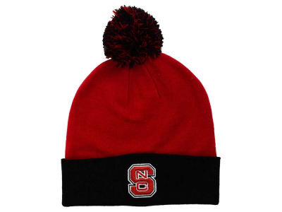 North Carolina State Wolfpack Top of the World NCAA 2 Tone Pom Knit