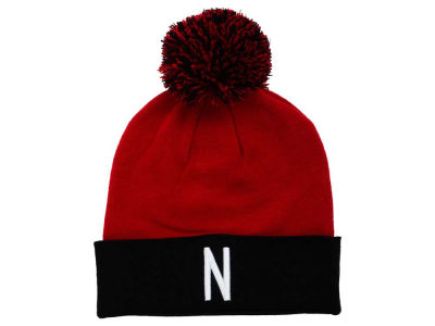 Nebraska Cornhuskers Top of the World NCAA 2 Tone Pom Knit