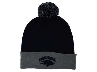Nevada Wolf Pack Top of the World NCAA 2 Tone Pom Knit