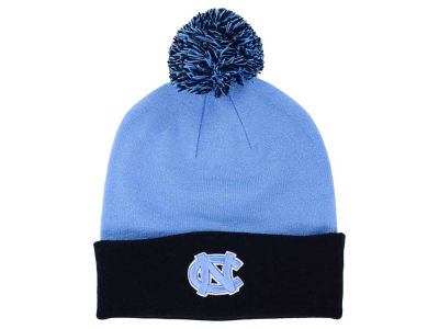 North Carolina Tar Heels Top of the World NCAA 2 Tone Pom Knit