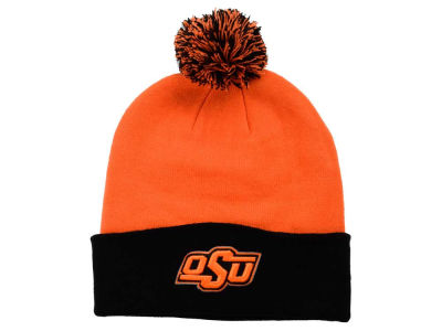 Oklahoma State Cowboys Top of the World NCAA 2 Tone Pom Knit