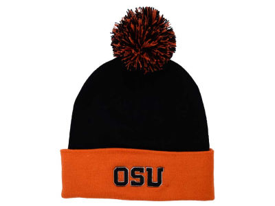 Oregon State Beavers Top of the World NCAA 2 Tone Pom Knit