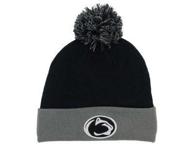 Penn State Nittany Lions Top of the World NCAA 2 Tone Pom Knit