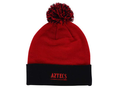 San Diego State Aztecs Top of the World NCAA 2 Tone Pom Knit
