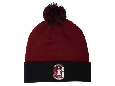 Stanford Cardinal Top of the World NCAA 2 Tone Pom Knit