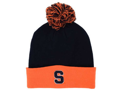 Syracuse Orange Top of the World NCAA 2 Tone Pom Knit