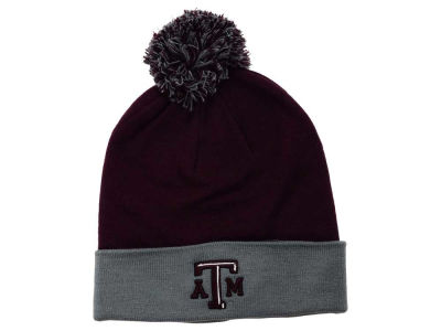 Texas A&M Aggies Top of the World NCAA 2 Tone Pom Knit