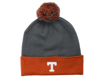 Texas Longhorns Top of the World NCAA 2 Tone Pom Knit
