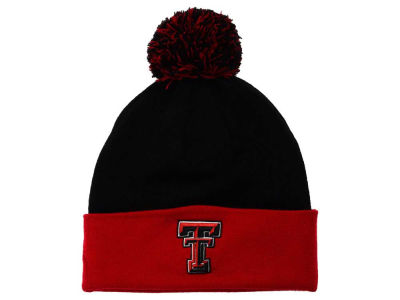Texas Tech Red Raiders Top of the World NCAA 2 Tone Pom Knit