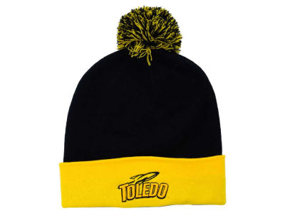 Toledo Rockets Top of the World NCAA 2 Tone Pom Knit