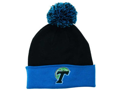 Tulane Green Wave Top of the World NCAA 2 Tone Pom Knit
