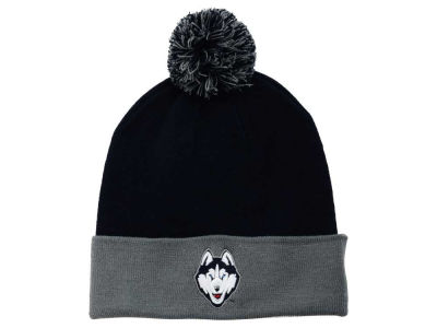 Connecticut Huskies Top of the World NCAA 2 Tone Pom Knit